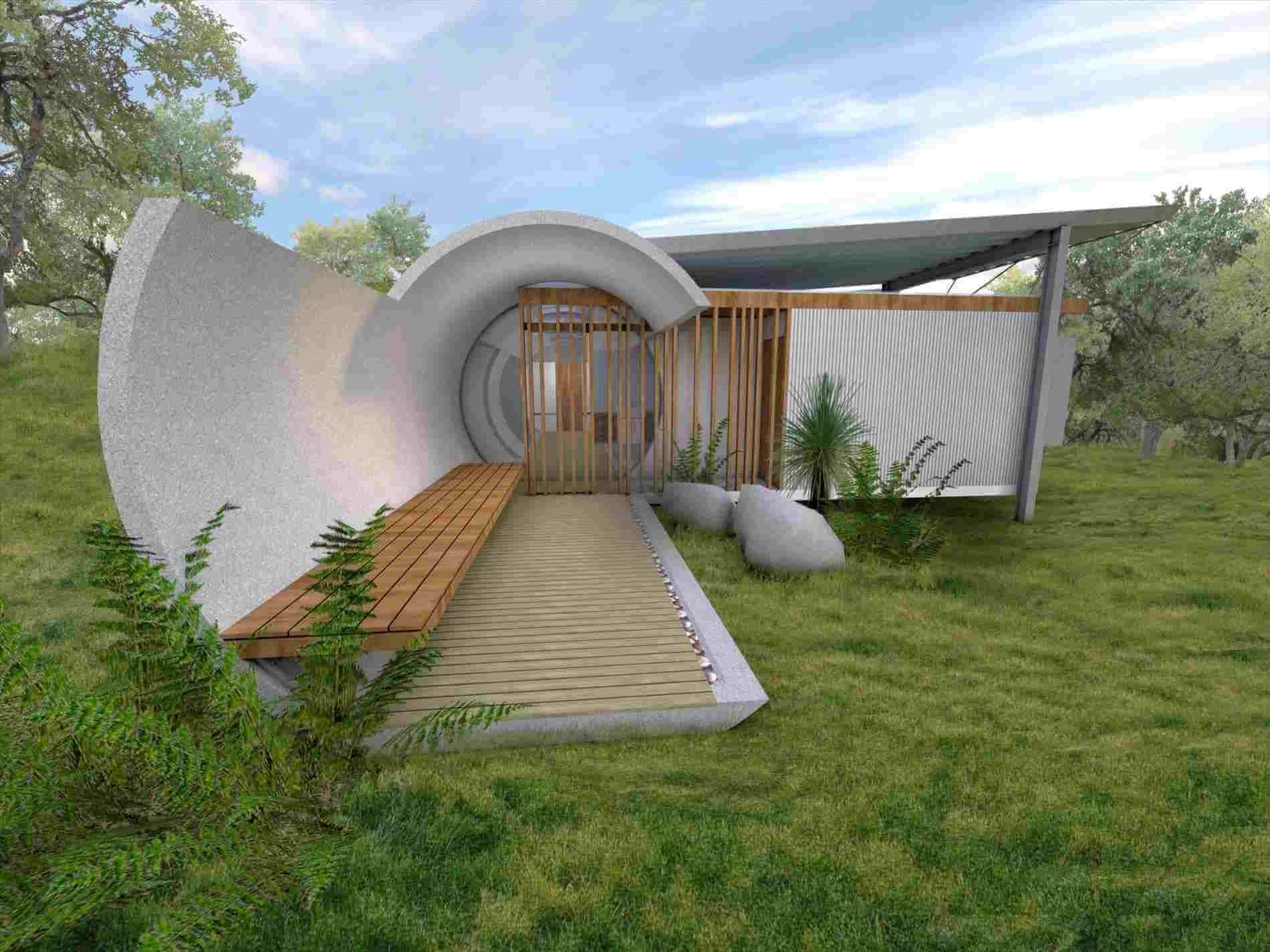 Some Amazing Underground House Design That You Can Also Have Earth Homes Underground House Plans Underground Homes
