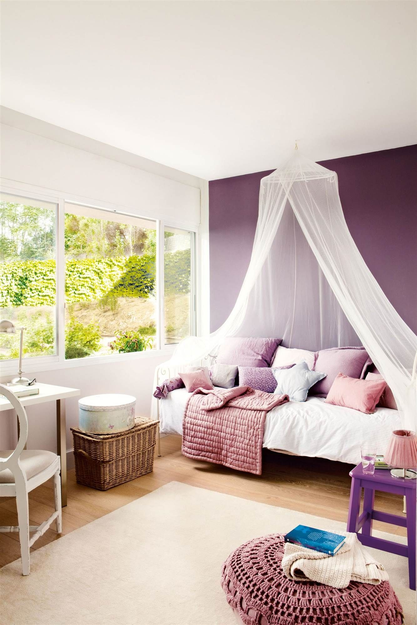 get more purple inspirations for kid's bedrooms with circu
