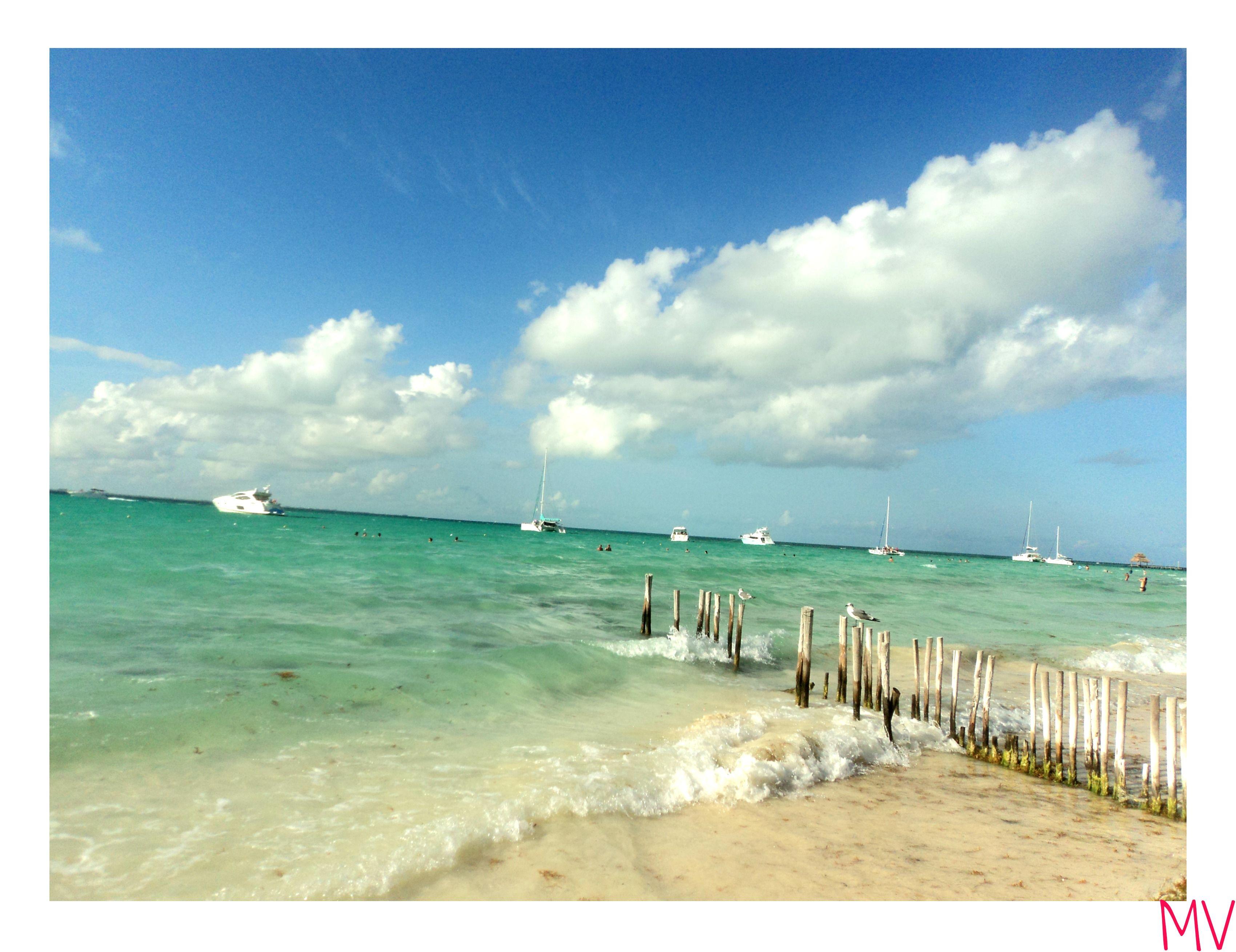 Isla Mujeres, México #Travel #Viaje #destination #summer #holidays #vacation #virgin #beach #Island