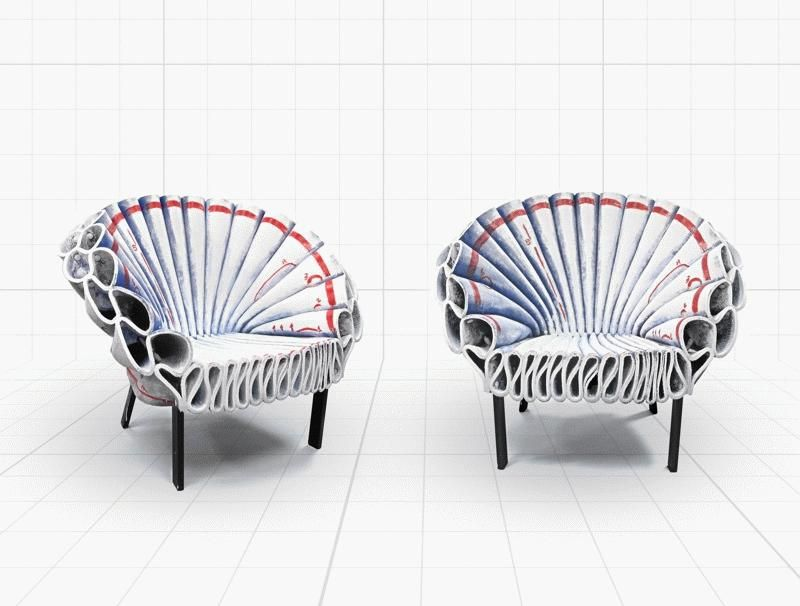 Capellini Dror For Peacock Armchair ChairFurniture Lounge EHIY2DW9