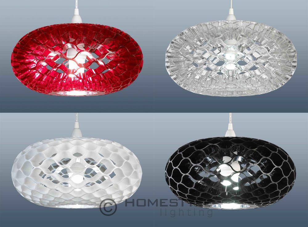 Loren retro honeycomb ceiling light pendant lamp shade 6 colours loren retro honeycomb ceiling light pendant lamp shade 6 colours aloadofball Gallery
