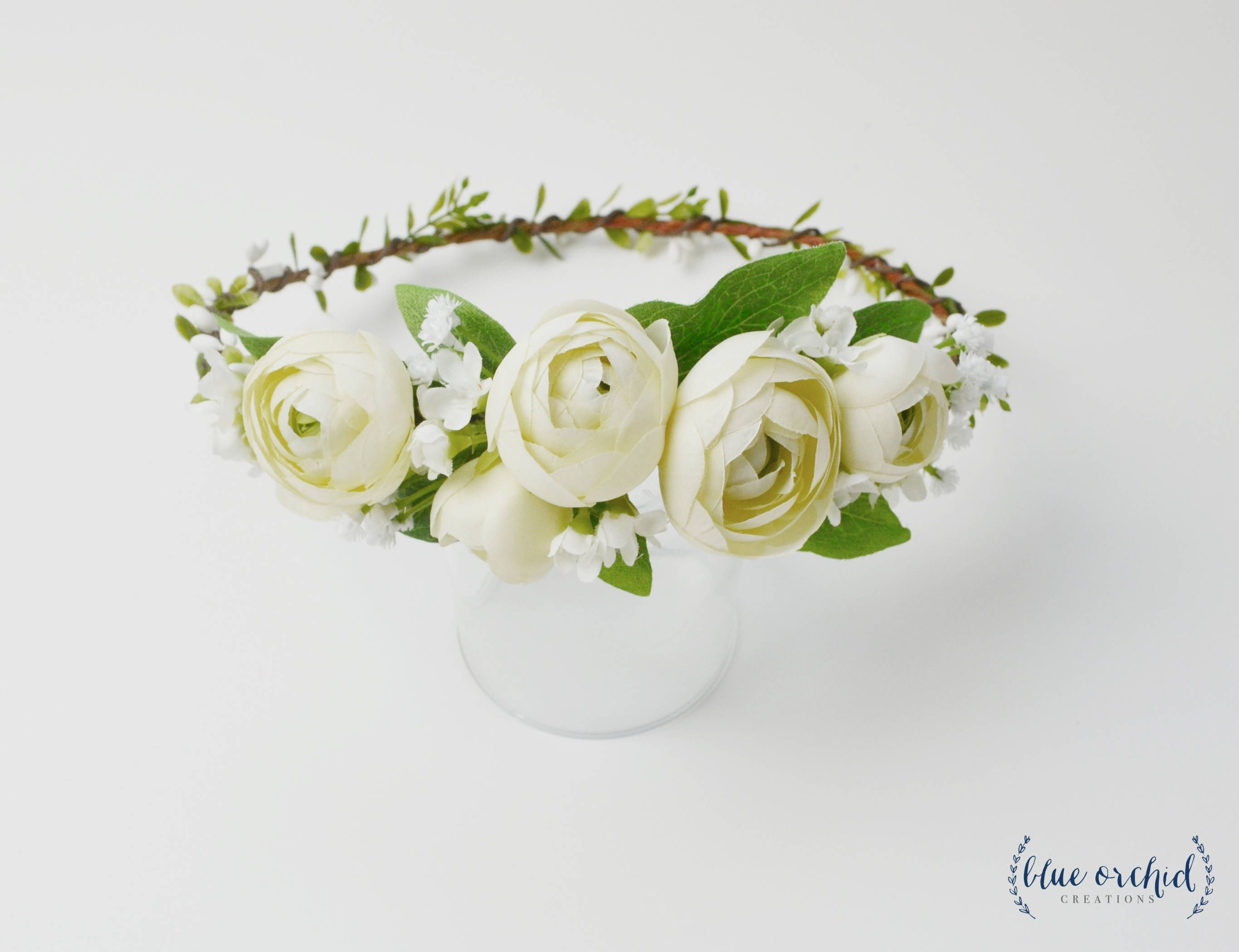 Flower crown boho flower crown cream ranunculus crown peony crown flower crown boho flower crown cream ranunculus crown peony crown flower crown izmirmasajfo