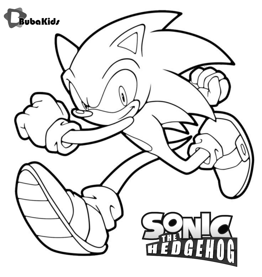 Sonic Coloring By Numbers Collection