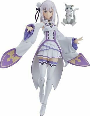 New Figma Re Zero Starting Life In Another World Emilia Pvc From Japan Anime Anime Figurines Anime Figures