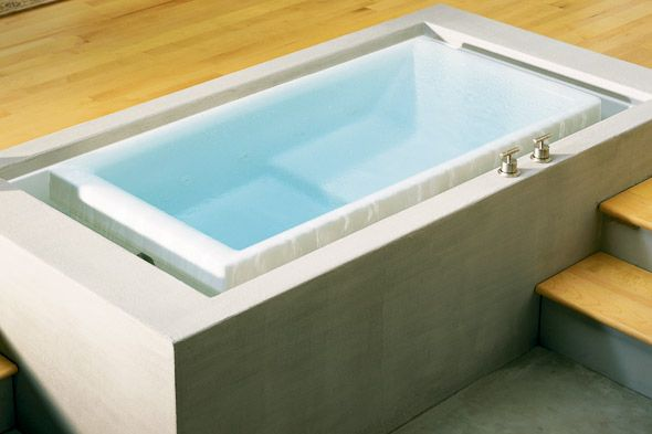 Exceptionnel The Sok Infinity Edge Bathtub By Kohler Is The Bathtub Version Of An  Infinity Edge Pool. The Water Gently Moves Over The Edges As You Bathe.