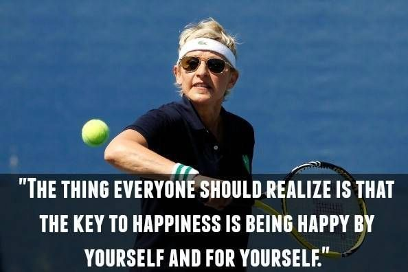 Funny Ellen quotes and life lessons