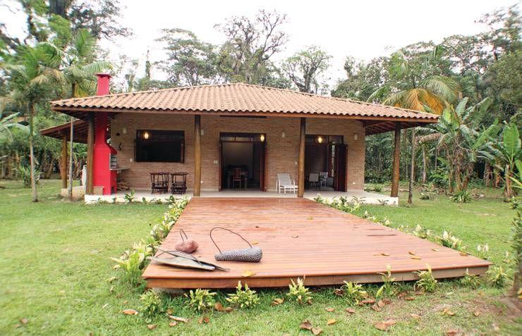 Rústica e Colonial: Casas translation missing: br.style.casas.colonial por RAC ARQUITETURA
