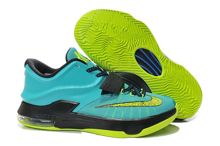 Womens and Kids KD 7 Uprising Hyper Jade Blue Volt  57cd44ab31