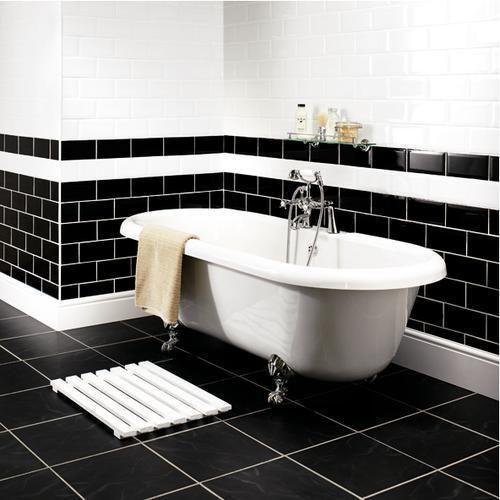 Large Image Of Bevelled Edge Brick Ceramic Wall Tile Bathroom Tile Part 36
