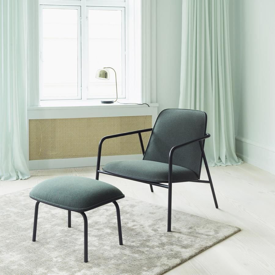 Lage Lounge Stoel.Normann Copenhagen Pad Lounge Chair High Or Low Relax Stoel