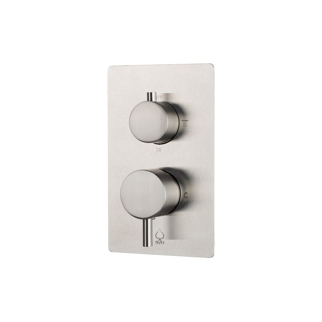 BAI 0129 Concealed Stainless Steel Shower Mixer With Water Pressure ...