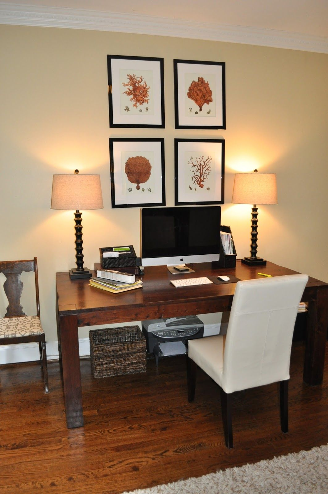 Home Tour Dining Room Table Affordable Decor Simple Wooden Desks