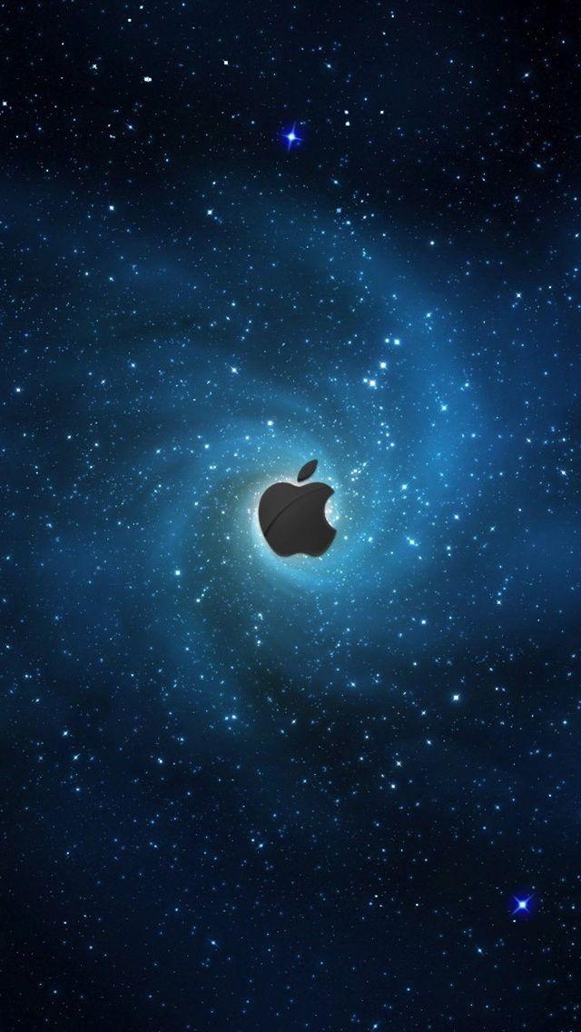Stars Blue Apple Iphone Wallpaper 640x1136 Iphone 5 5s 5c Wallpaper Download Apple Logo Wallpaper Mobile Wallpaper Hd Wallpaper