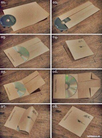 How to make CD Case DIY Pinterest Cd diy, DIY and Cd cases