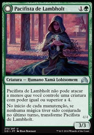 Lambholt Pacifist (Shadows Over Innistrad) - R$1,59