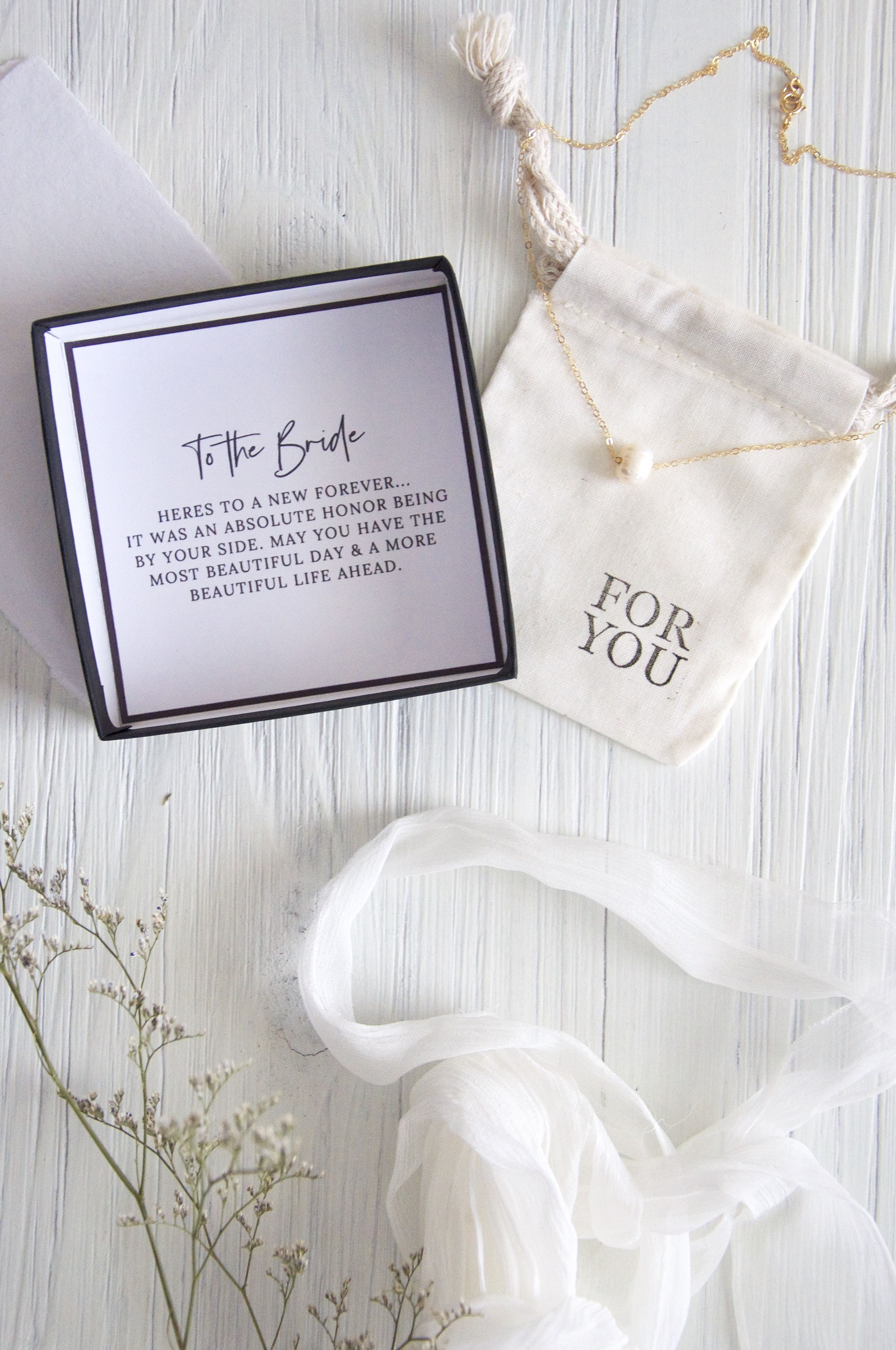 Gift For Bride From Maid Of Honor Sister Bridesmaid Mom Etsy Bride Gifts Sister Bridesmaid Maid Of Honor