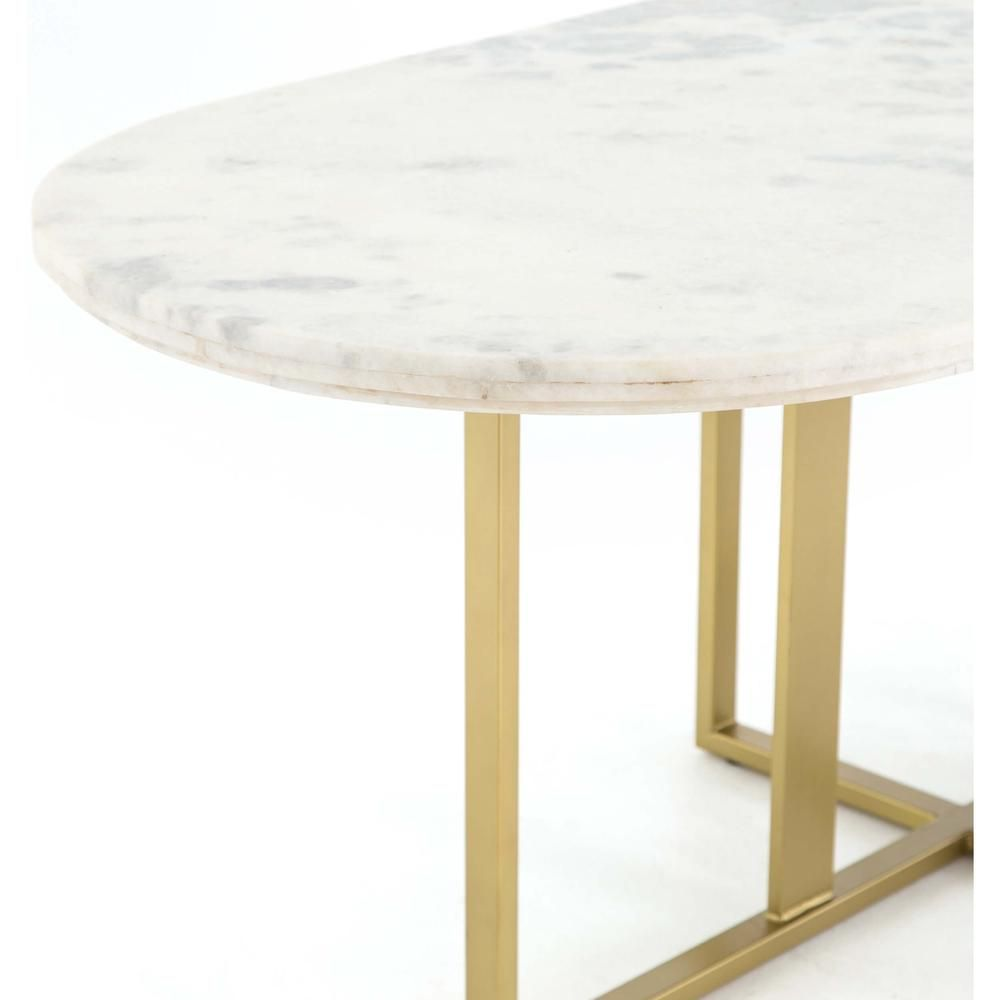 Devan Oval Dining Table In 2020 Table Dining Table Oval Table