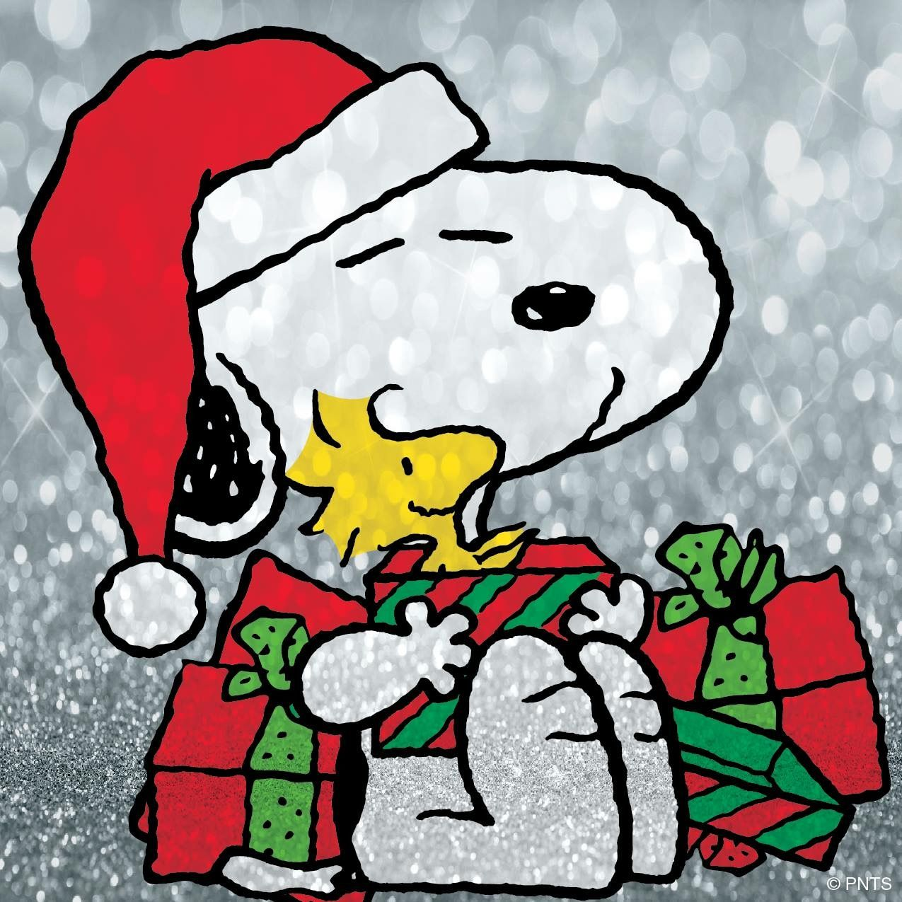 Christmas gifts brighten up the spirit ♪(๑ᴖ◡ᴖ๑)♪ #Snoopy ...