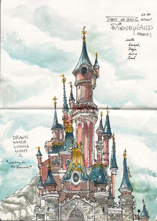 Disney\'s castle!   Dornröschen   Pinterest   Dornröschen, Burg und ...