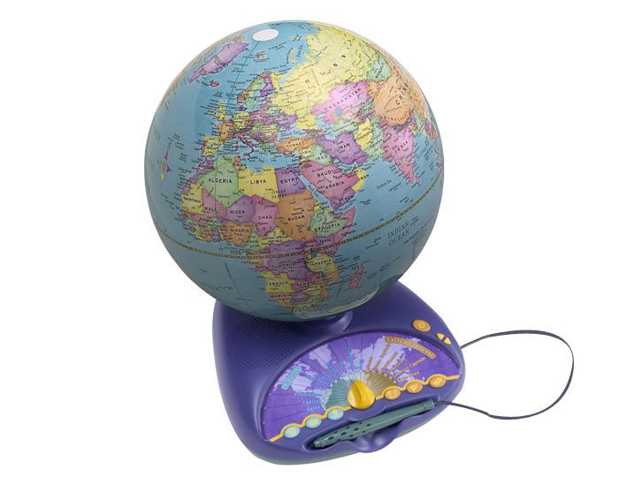 leapfrog explorer globe instructions