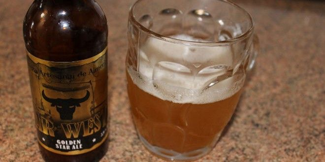 Cerveza Far West-Golden Star