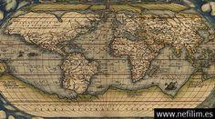 10 mapas antiguos que no deberan existir mapas antiguos ortelius world map circa 1570 gumiabroncs Gallery