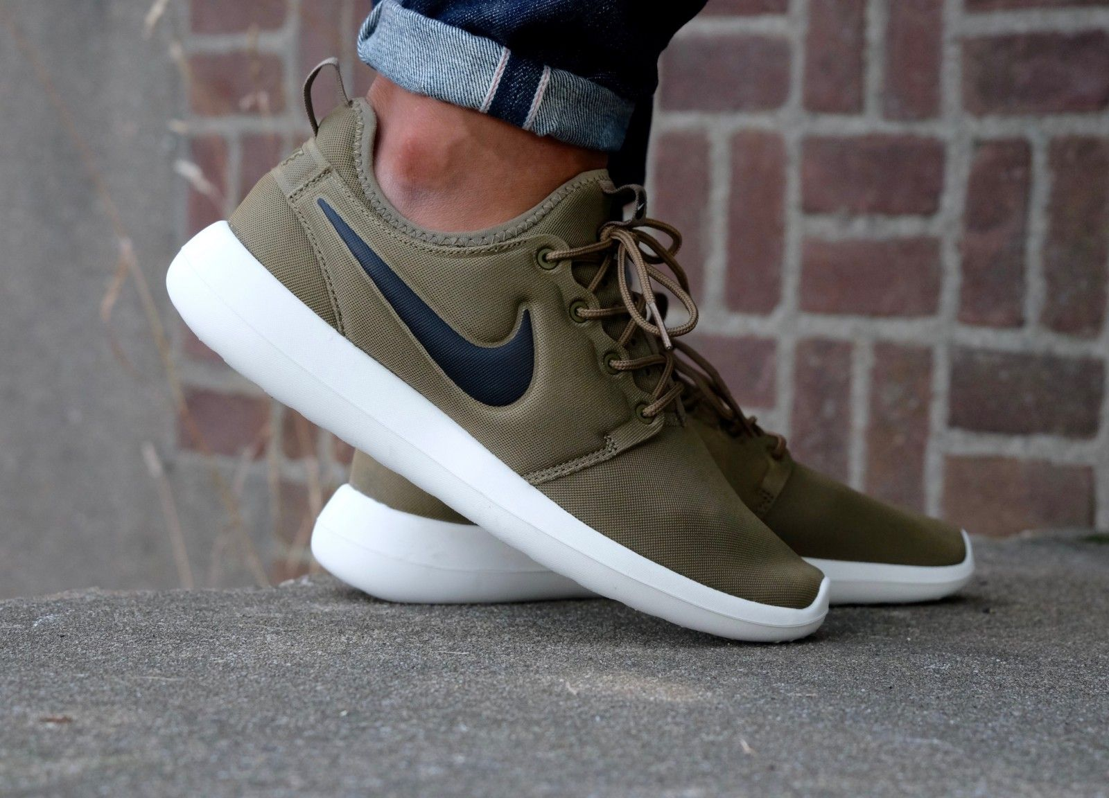 outlet store 3e6d0 40b50 Nike Roshe Two Iguana  Black-Sail-Volt - 844656-200