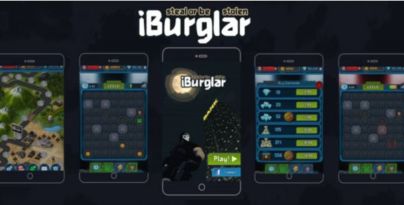 iBurgler Android Game Template Download: https://codecanyon.net/item/