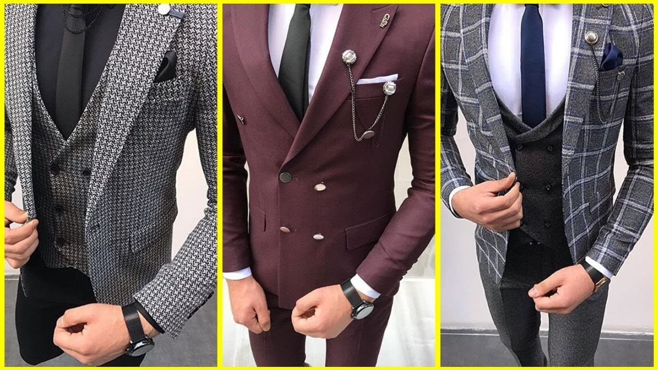 Three Piece Suit New Coat Pant Design 2020 Price