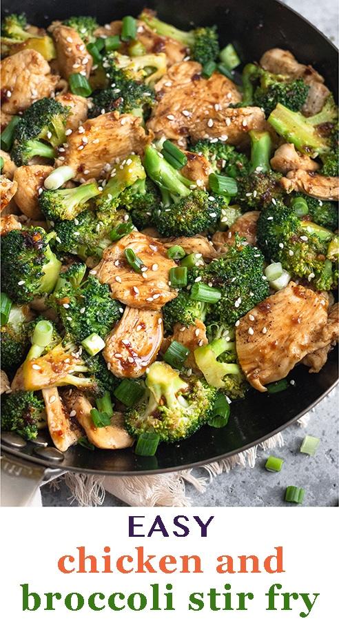 Chicken And Broccoli Stir Fry Recipe In 2020 Broccoli Stir Fry Healthy Dinner Recipes Chicken Healthy Chicken Dinner
