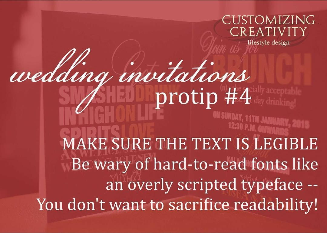 Today we have wedding invitation tips from Mumbai #bfredbook member ...