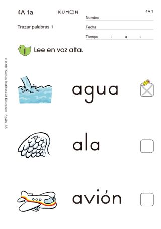 Native language worksheets studied in various countries