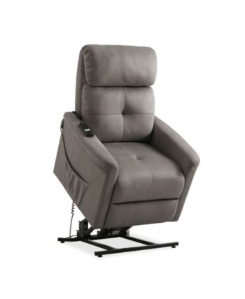 Marvelous Prolounger Power Recline And Lift Chair Gray Products In Dailytribune Chair Design For Home Dailytribuneorg