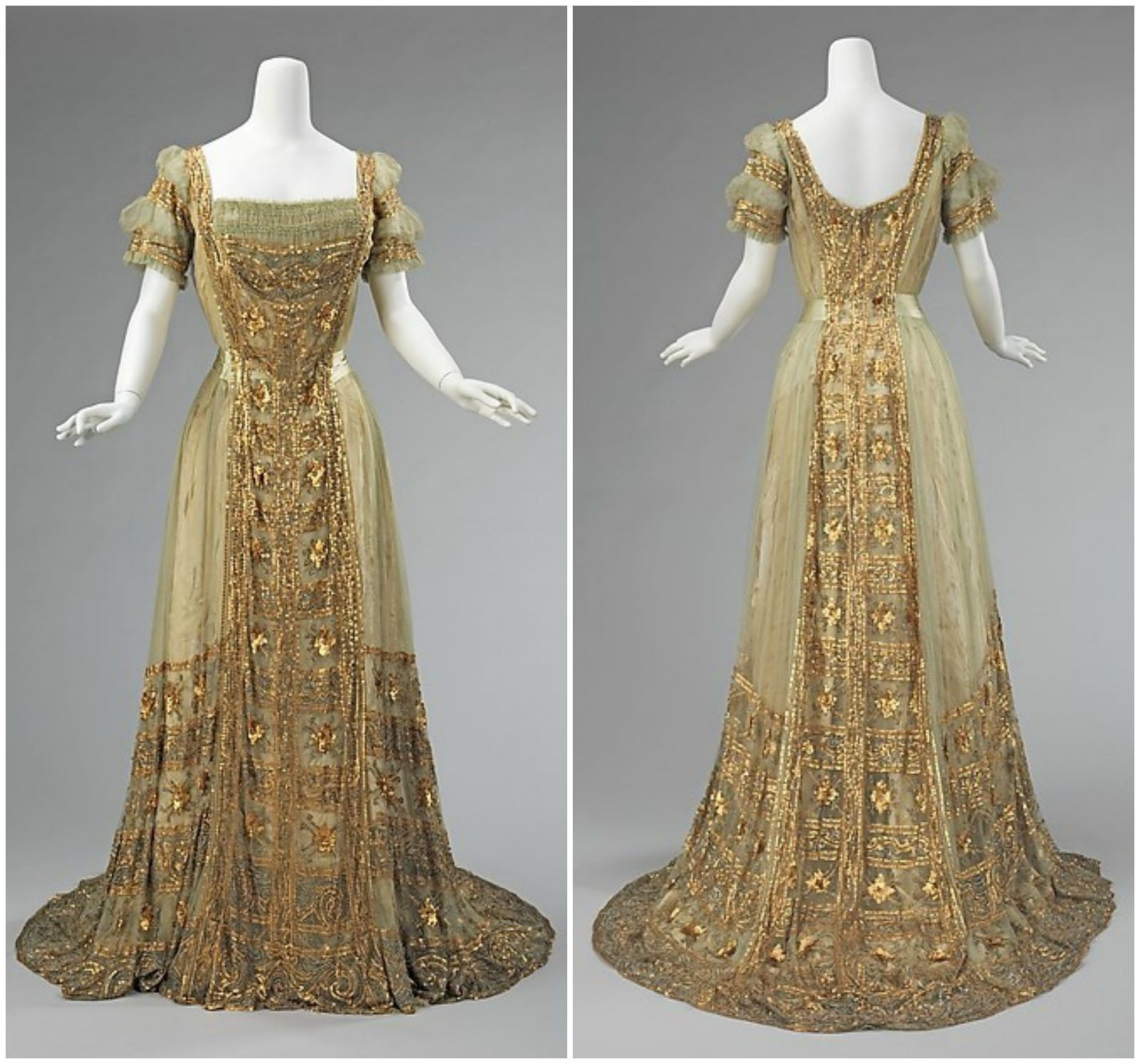 1910 Ball Gown. American. Silk. metmuseum | History ...