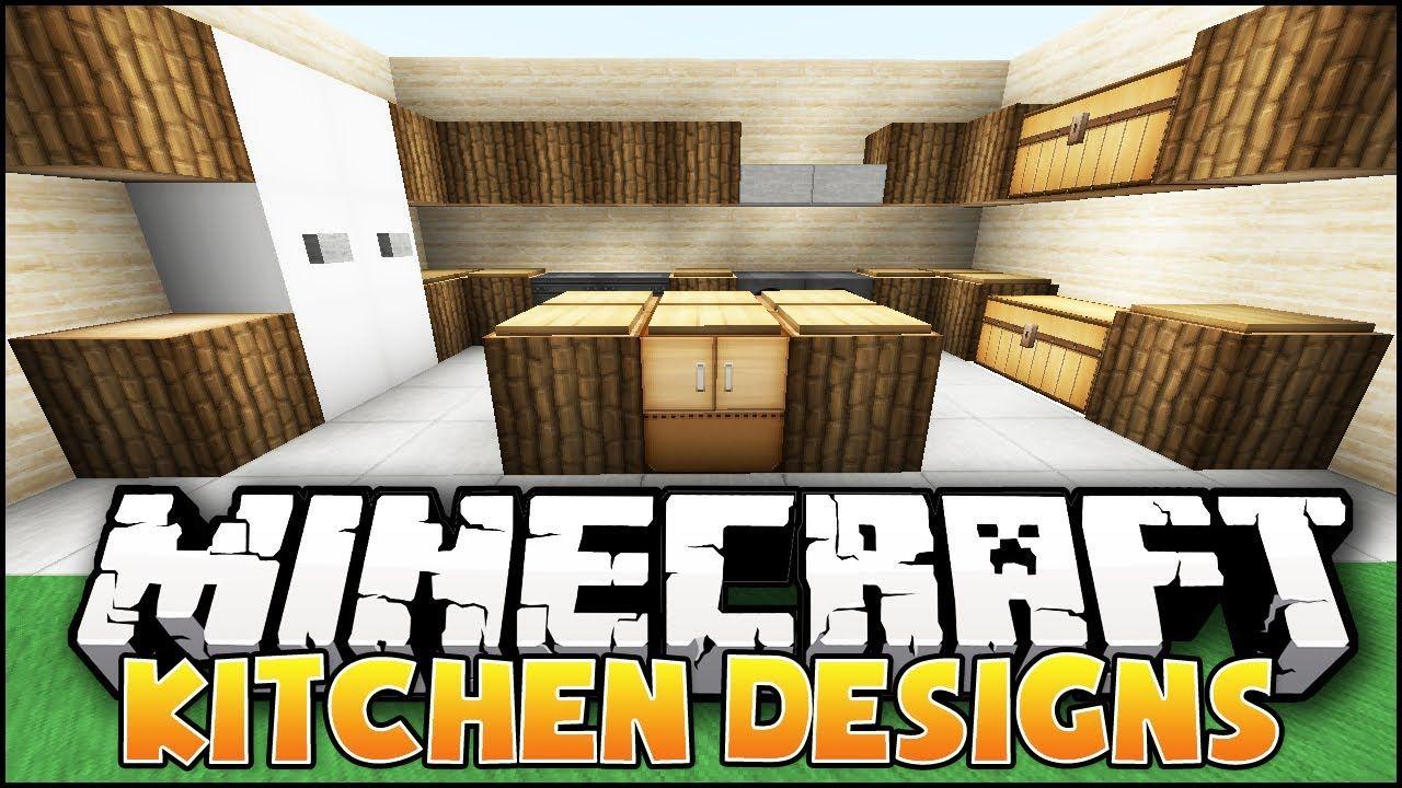 Minecraft: Nice Kitchen Designs & Ideas | MINECRAFT | Pinterest