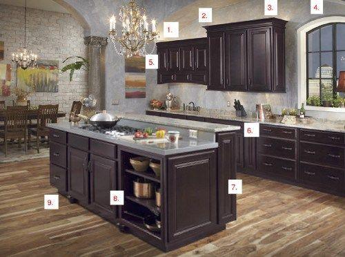 Wall Color Espresso Cabinets Interior Design Online Espresso