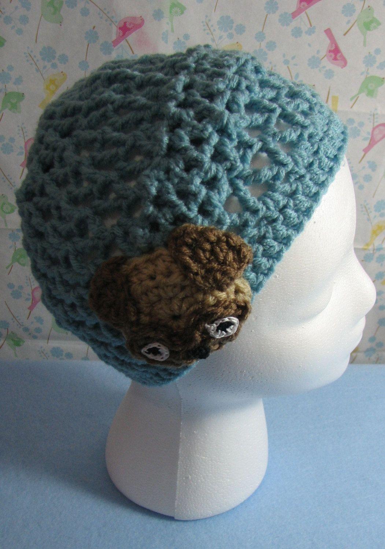 Pug Hat Crochet Pattern With Tutorials Digital Download