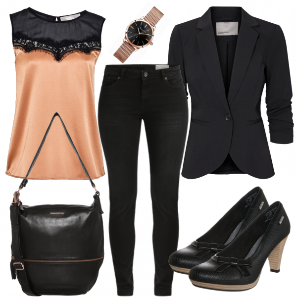 Bronze Outfit - Business Outfits bei FrauenOutfits.de