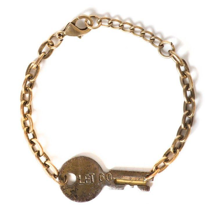 Never Ending Key Bracelet