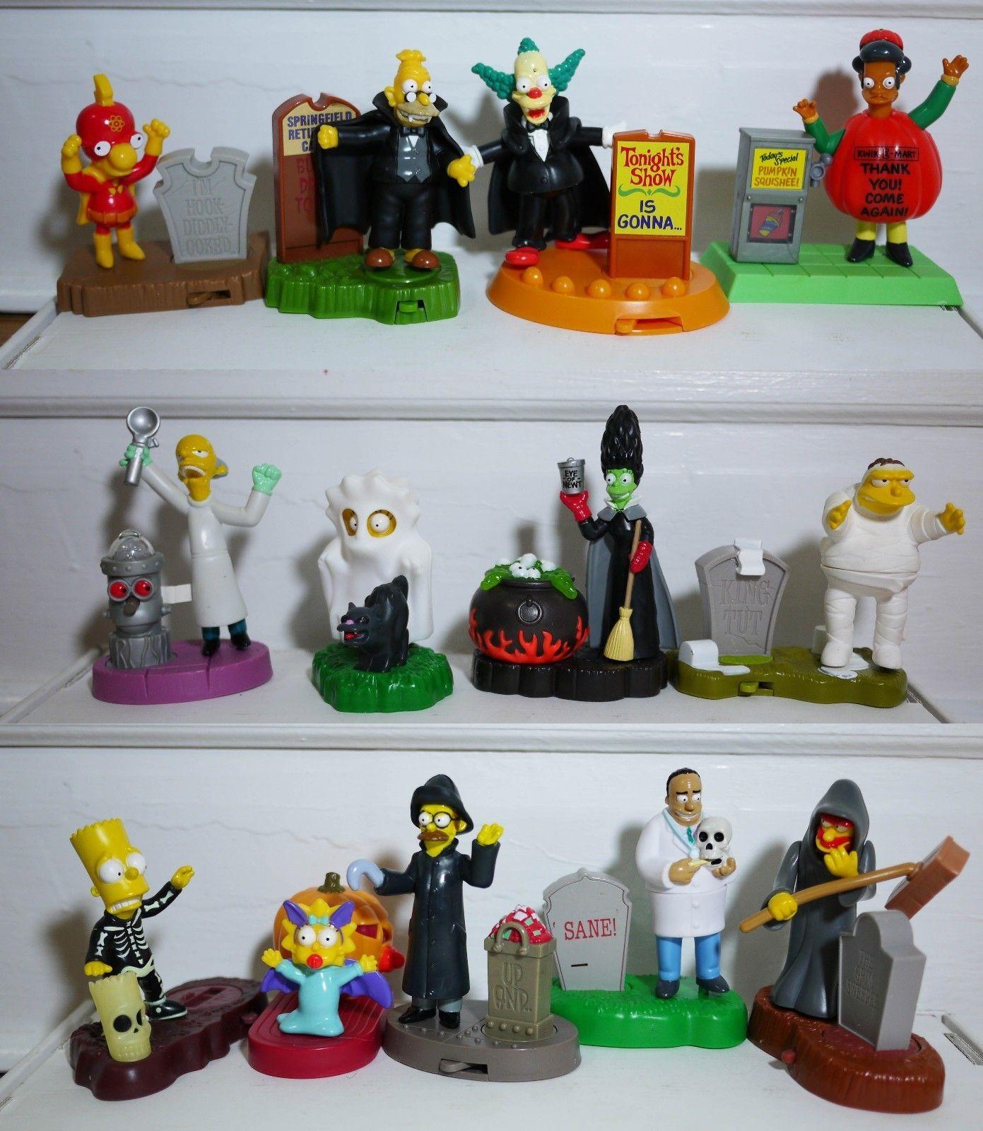 Halloween Burger King Toys The Simpsons