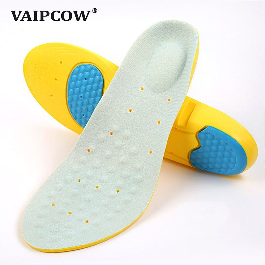 Shoe Insoles Insert Pad Memory Foam Orthotics Arch Pain Relief Support Cushion U