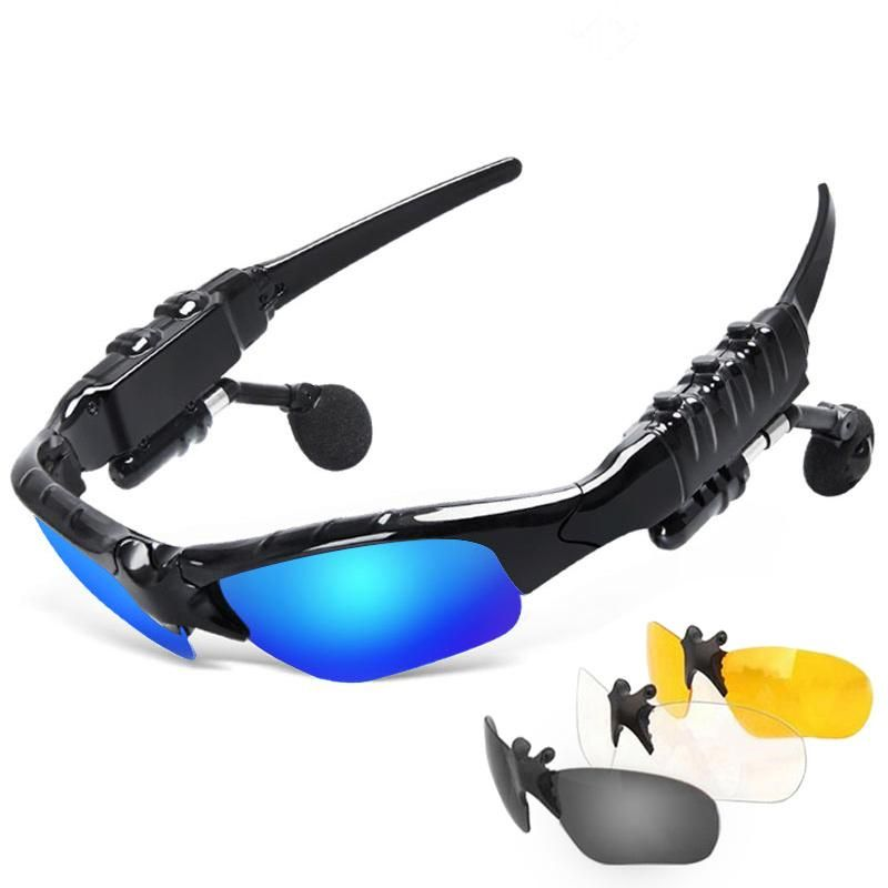 Bluetooth Sunglasses Polarized Wireless Headphone With Microphone Outdoor  Glasses with Mic Casque for sony xiomi 0f473147e0