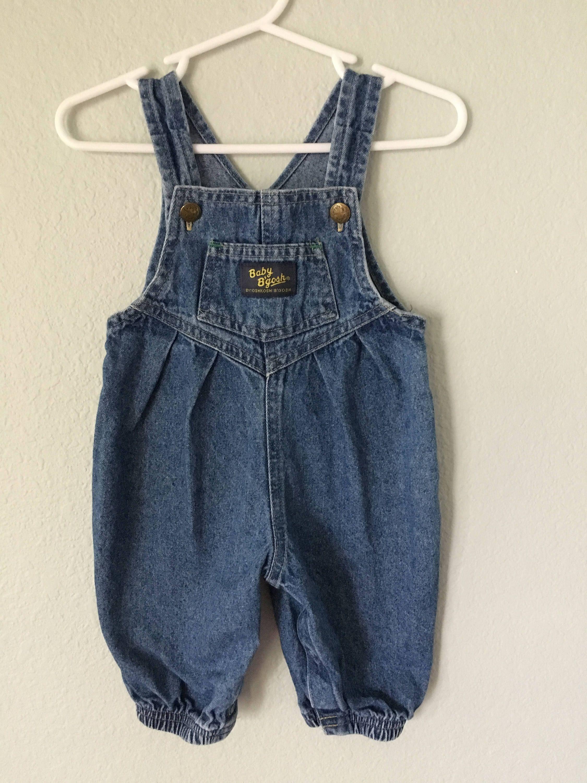 aeb9d1548b1b Vintage Baby Oshkosh B Gosh Overalls