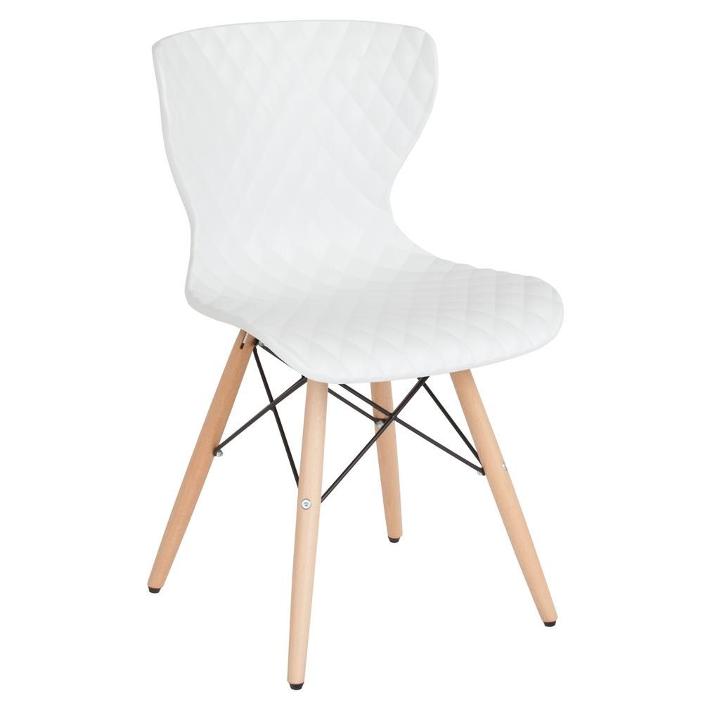 Flash Furniture White Plastic Officedesk Chair In 2019 Products
