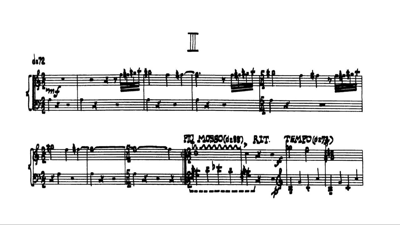 Cage Sonatas And Interludes For Prepared Piano Audio Score Piano Math Scores