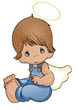 Precious moments (Preciosos momentos) ángel bautizo y primera comunión