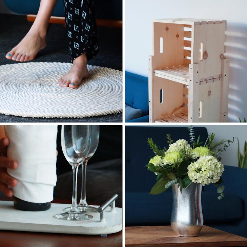 Diy Home Decor Ideas That Anyone Can Do: Easy Home Upgrades Anyone Can Do #hacks #DIY #wood #home