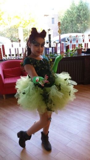My baby girl as Poison ivy costume made by me  sc 1 st  Pinterest & My baby girl as Poison ivy costume made by me | For Kids | Pinterest ...