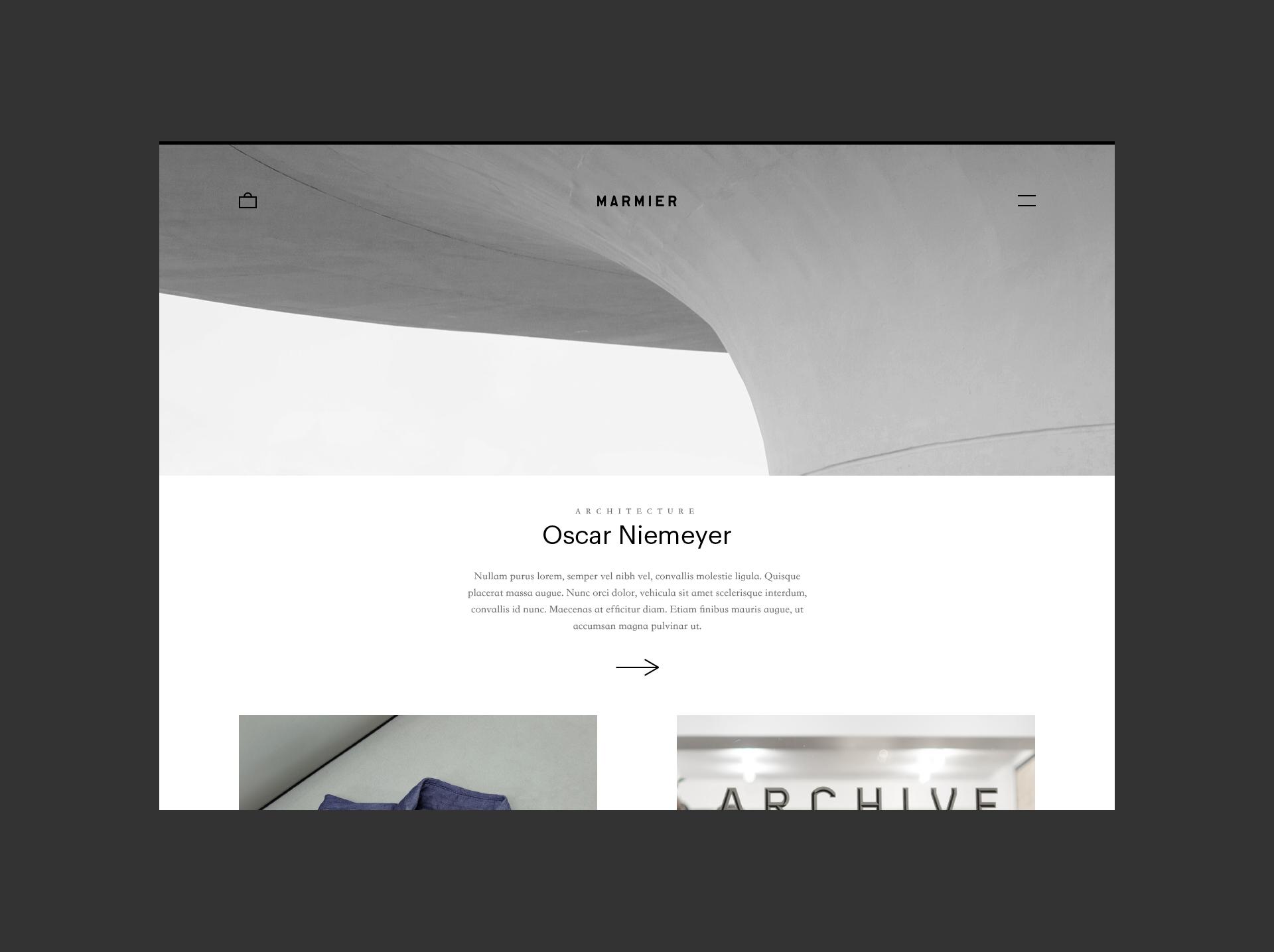 Marmier Ofcina Identity Design Services Web Design Webdesign Design