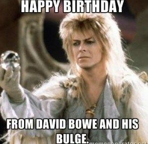 Funny Birthday Memes For Friends Girls Bowie D Happy